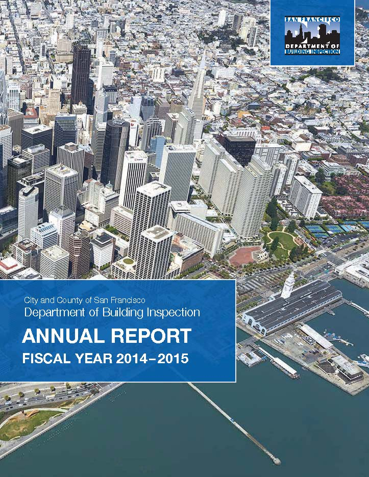 DBI Annual Report Fiscal Year 2014-2015