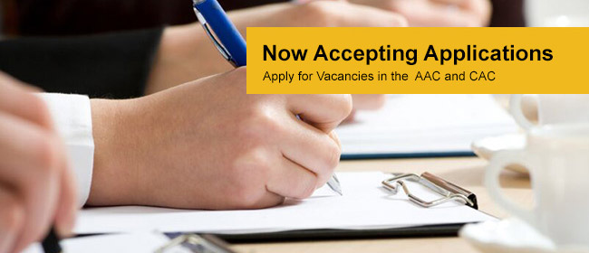 Apply Now for Committee Vacancies
